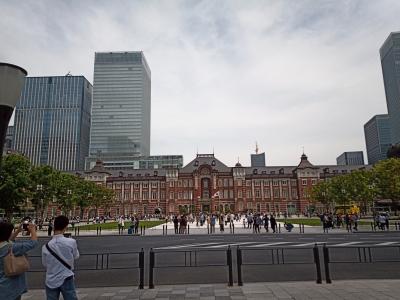 soku_36529.jpg :: 風景 街並み 都市の風景 ビル群 東京駅
