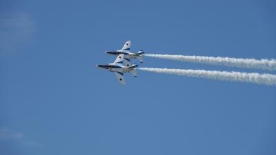 soku_36639.jpg :: 松島基地航空祭 ブルーインパルス 乗り物 交通 航空機 飛行機 軍用機